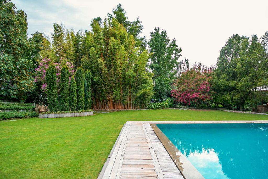 Diseño de jardines exteriores en Madrid