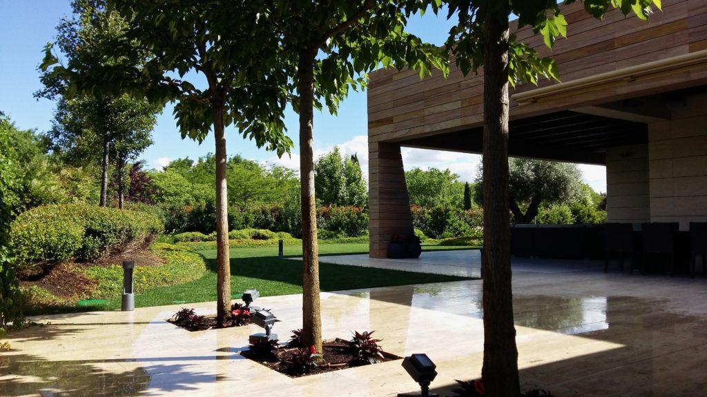 Diseño de jardines modernos en Madrid